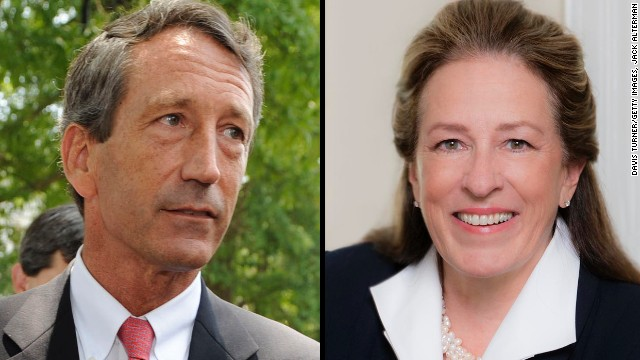 Mark Sanford burned on affair in debate
