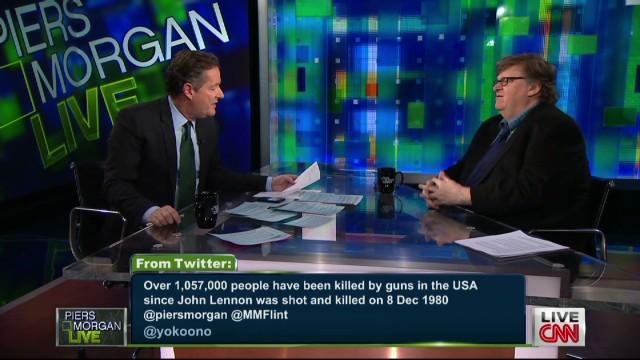 Yoko Ono tweets about gun violence