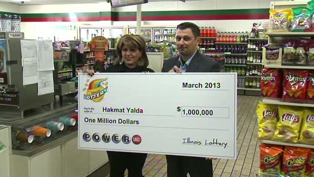 Janitor cleans up with $1 million ticket