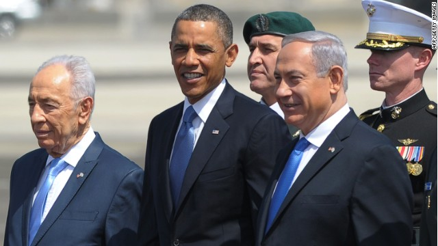 Israeli, Palestinian views of Obama?