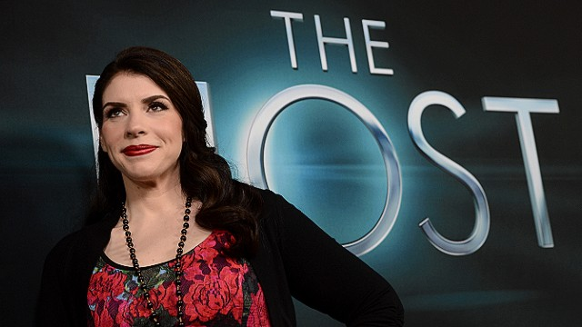 Stephanie Meyer at the red carpet premiere of 'The Host'