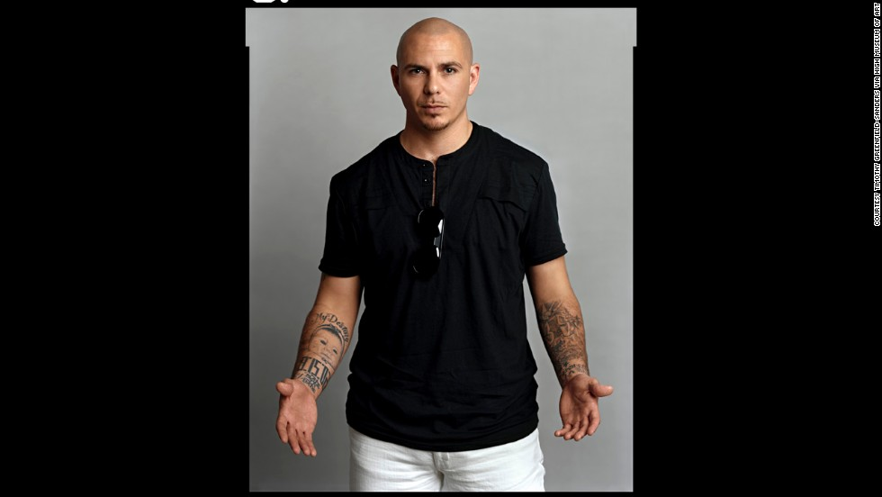 Rapper and producer Pitbull was born Armando Christian Perez  to Cuban parents in Miami.