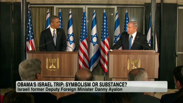 Obama in Israel: Symbolism or substance?
