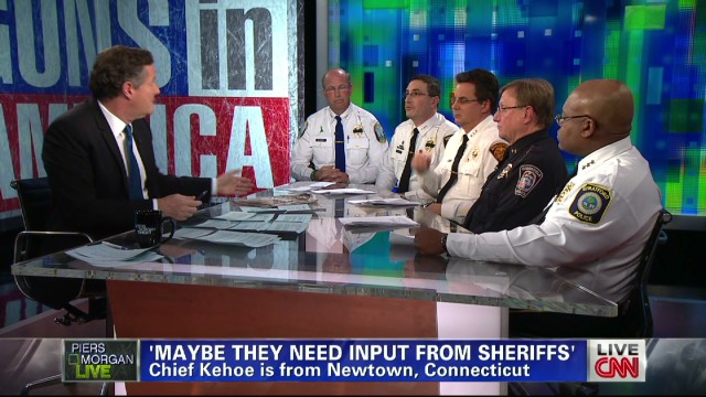 Five CT police chiefs talk guns