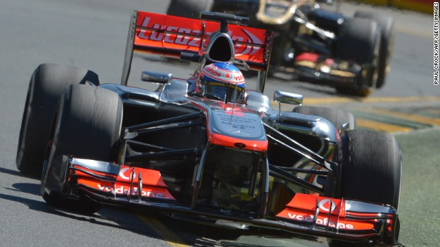 British driver Jenson Button won the world championship in 2009 before joining McLaren in 2010.