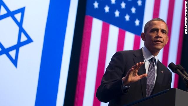 Obama: Israel 'at a crossroads'