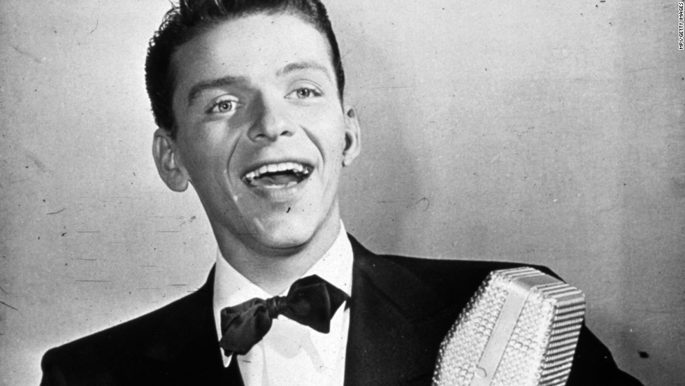 "With his blue eyes and that golden voice, Frank Sinatra, seen here circa 1935, is often referred to as the original teen idol. Decades before there were ""Beliebers,"" <a href=""http://www.paleycenter.org/sinatra-the-bobby-soxers/"" target=""_blank"">there were ""bobby soxers,""</a> as young female fans were called. Here's a look at 29 other stars who made their young (and old) fans swoon."