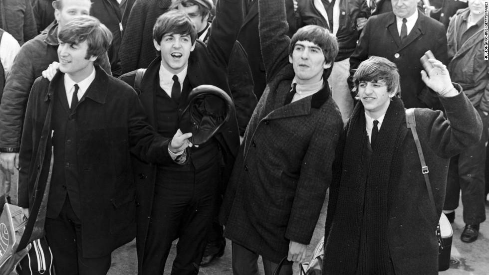"As described by <a href=""http://www.rollingstone.com/music/lists/the-top-25-teen-idol-breakout-moments-20120511/the-beatles-1964-20120511"" target=""_blank"">Rolling Stone</a>, the teenaged fervor for this landmark British band was a ""level of ... mania the country had never before seen -- even at the height of Elvis Presley."" When Beatlemania hit the U.S. in 1964, the screaming fans would drown out the music at Beatles shows ... and some young women, the magazine notes, would even wet their pants with excitement when the band's car rolled by. From left, John Lennon, Paul McCartney, George Harrison and Ringo Starr."