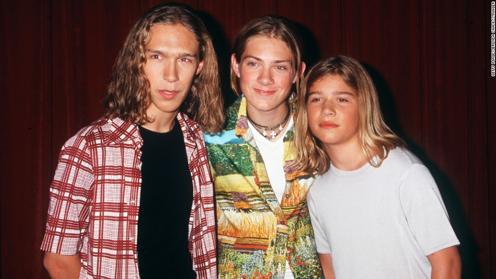 "With their long hair and wholesome approachability, the Hanson brothers who formed this music trio -- from left, Isaac, Taylor and Zac -- ""MMMbop""-ed their way into the pantheon of teen heartthrobs in 1997."