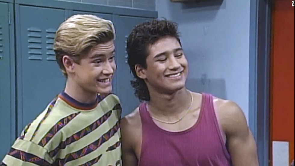 "Mark-Paul Gosselaar and Mario Lopez had everyone wishing they could enroll at the fictional Bayside High thanks to their roles on ""Saved by the Bell."" Gosselaar exuded charm and wit as Zack Morris, while Lopez's physique -- and those dimples! -- made TV viewers fall for A.C. Slater."