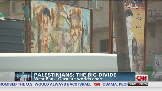 Palestinians: The big divide