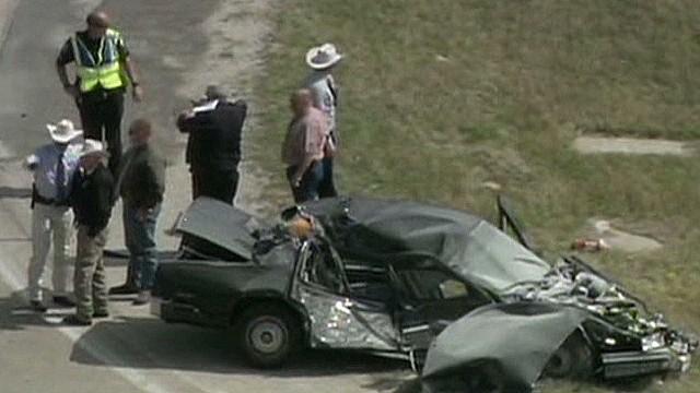 Texas shootout suspect dies