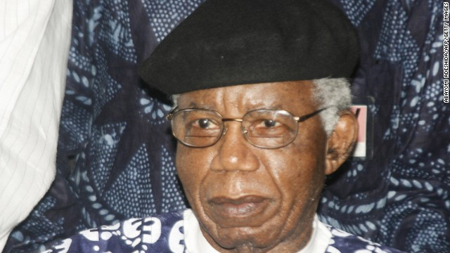 Nigerian writer remembers Achebe