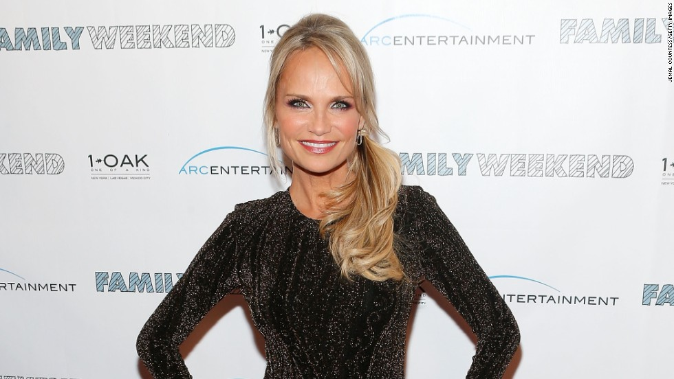 Kristin Chenoweth attends a screening of 'Family Weekend' in New York on March 21.