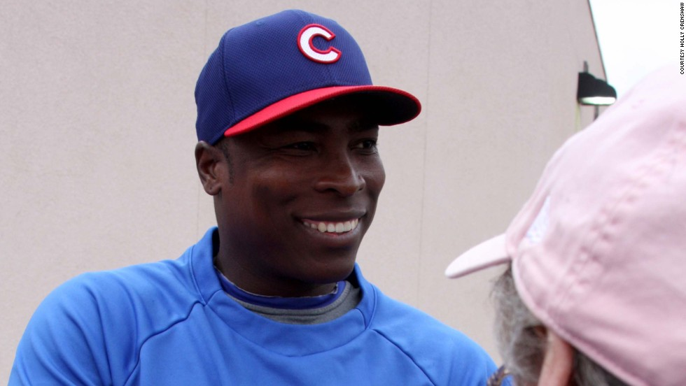 Spring training fans can get up close to marquee players such as Alfonso Soriano at Hohokam Stadium.