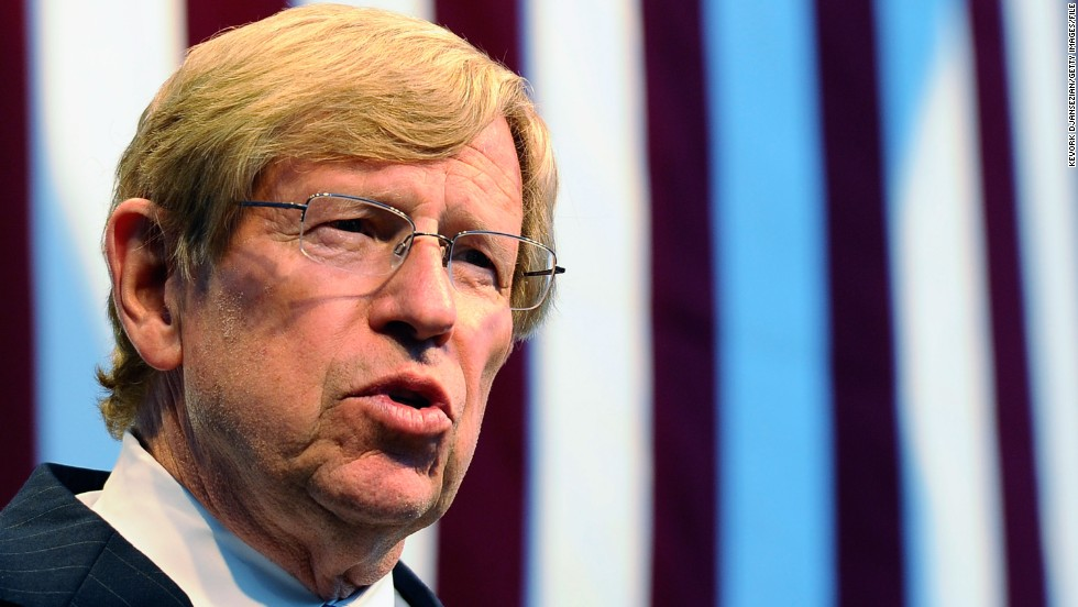 Theodore Olson is an attorney for opponents of California's Proposition 8, a referendum that revoked the right of same-sex couples to wed after the state's high court previously allowed it.