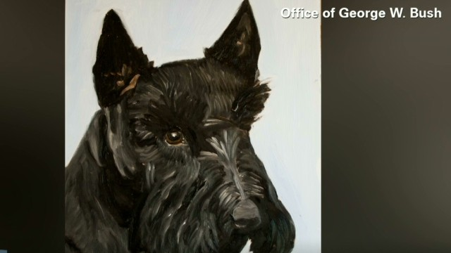More hacked George W. Bush paintings