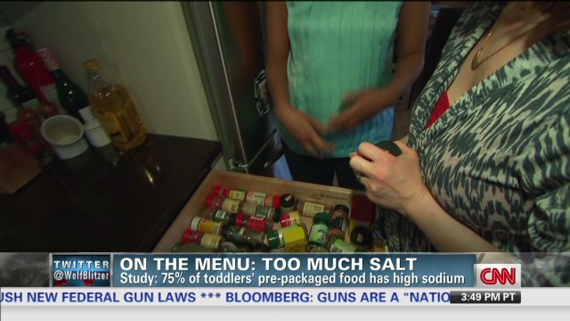 Report: Americans consume too much salt