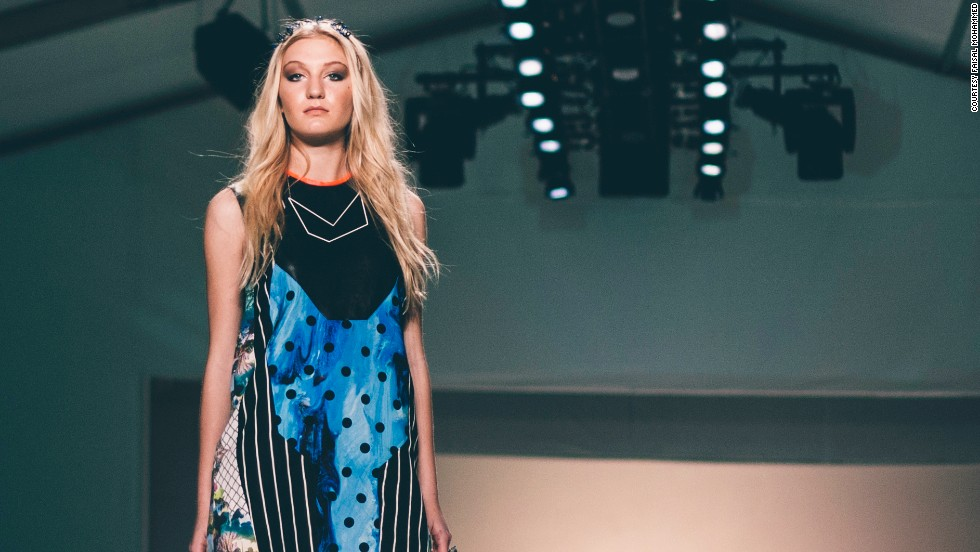 A collection by Hannah Goff, winner of 2012's emerging designer competition at Charleston Fashion Week, was shown Tuesday night. Since winning the competition last year, her namesake line has been featured in Fashionista, Elle, Nylon and Southern Living.