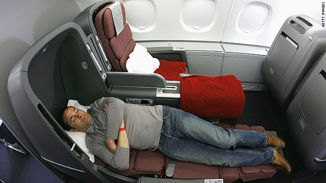 Business class looks bearable on Qantas. But some prefer not to slum it so shamelessly.