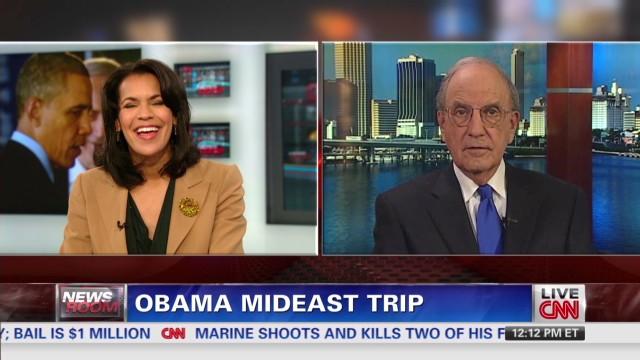 Pres. Obama ends Middle East visit