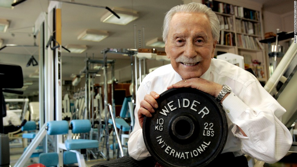 "Legendary publisher, promoter and weightlifter <a href=""http://www.cnn.com/2013/03/23/health/california-weider-obit/index.html"">Joe Weider</a>, who created the Mr. Olympia contest and brought California Gov. Arnold Schwarzenegger to the United States, died at age 93 on March 23."