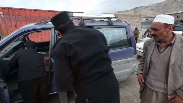 Dangerous challenge for Afghan police