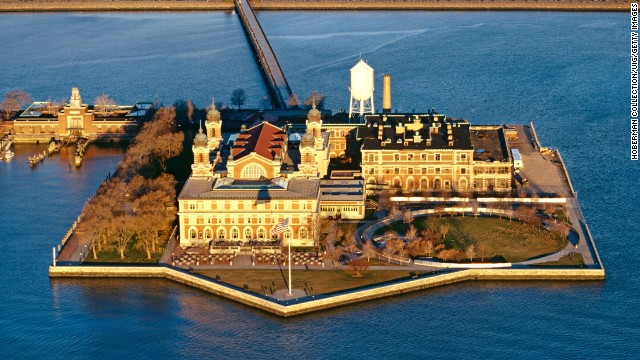 There is no projected reopening date for New York's iconic Ellis Island, the National Park Service announced.