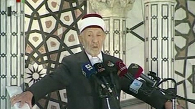 Syrian cleric killed in bombing