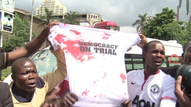'Democracy on trial' in Kenya