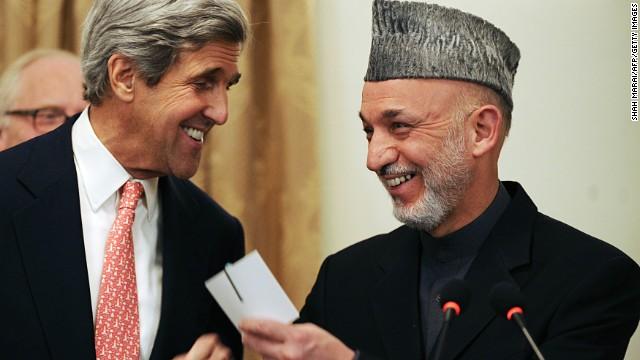 John Kerry's surprise trip to Kabul