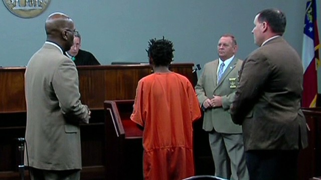 Teen accused of shooting toddler in court