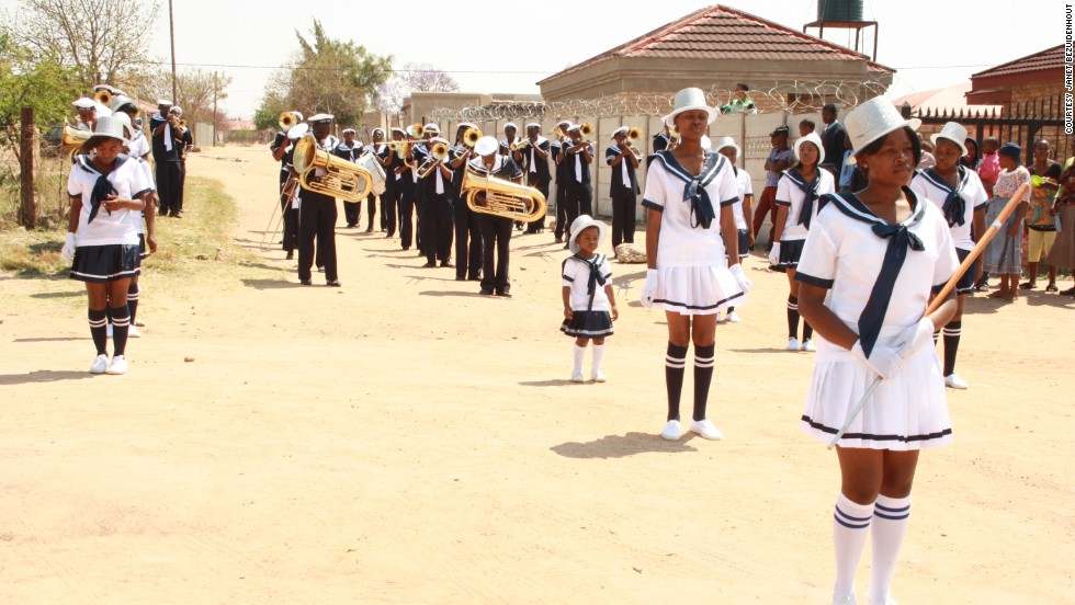 Set up in Limpopo, a deprived region of South Africa, Bezzi's Youth Brass Band has 60 members from local villages.