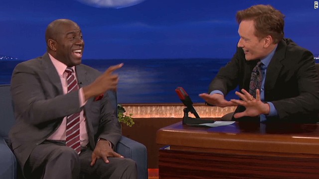 Magic Johnson's 'Slip 'n Slide' baseball