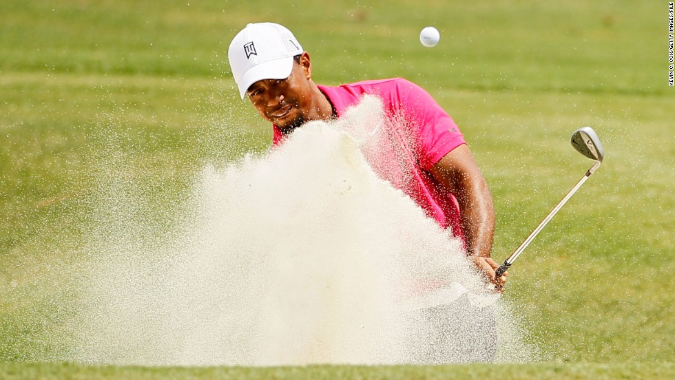 "In August 2011, Woods<a href=""http://edition.cnn.com/2011/SPORT/golf/08/12/golf.pga.woods.cut/index.html""> failed to make the cut at the PGA Championship</a> for the first time in his career. He has won the season's closing major on four occasions, most recently in 2007."