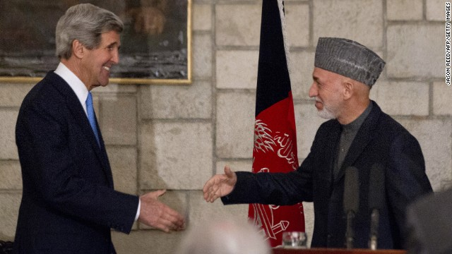 The attack in eastern Afghanistan comes a day after U.S. Secretary of State John Kerry arrived in the country.