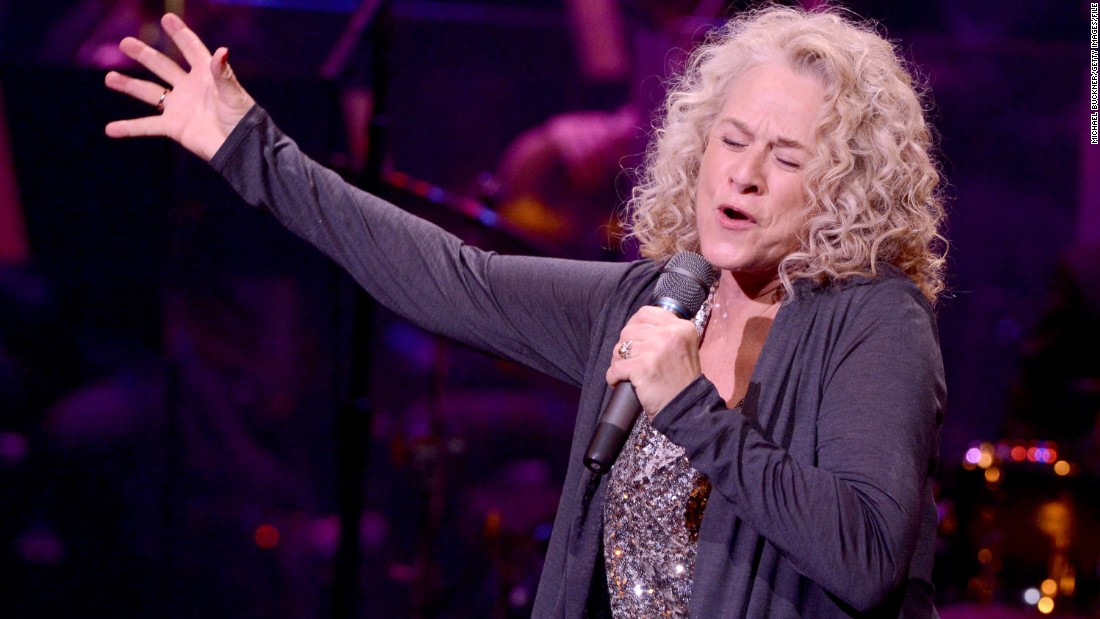 "<strong>Carole King</strong> is a singer-songwriter known for such hits as ""It's Too Late,"" ""I Feel the Earth Move"" and ""You've Got a Friend."" Her 1971 album ""Tapestry"" was on the Billboard 200 charts for 302 weeks."