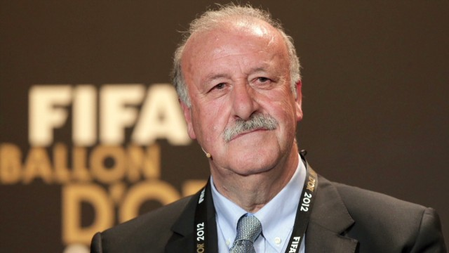 Spain coach Del Bosque: I've been lucky