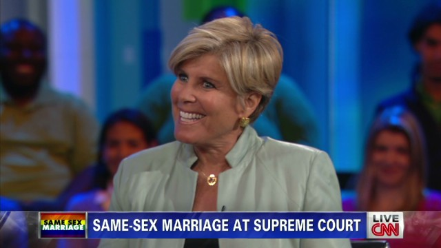 Orman and Anderson on same-sex marriage