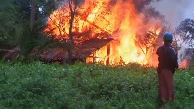 Deadly ethnic unrest spreads in Myanmar