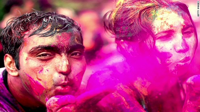 Hindu tradition celebrated through color