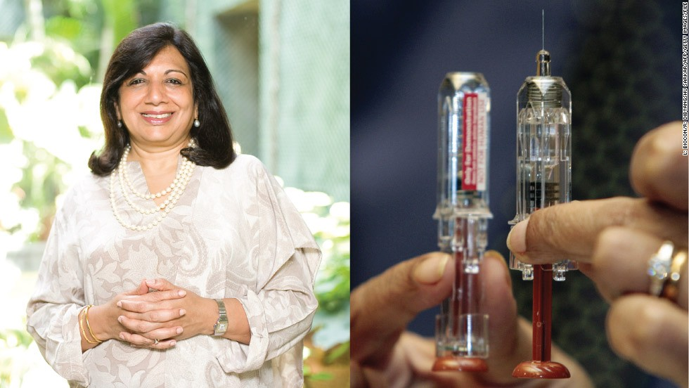 "<strong>Kiran Mazumdar-Shaw (1953-) </strong><br /><em>Founder of BioCon, India's first biotech company</em><br />Started: 1978<br /><br />Kiran Mazumdar-Shaw's qualified as India's first female master brewer, but became an entrepreneur after failing to find a job in brewing. At the age of 25, <a href=""/2012/11/15/business/kiran-mazumdar-shaw/index.html"" target=""_blank"">she started Biocon in a garage</a> with the equivalent of less than $200 in today's money.<br /><br />As a woman and one of the first pioneers of biotechnology in India, she found it difficult to obtain both staff and funding. Mazumdar-Shaw persisted and Biocon, one of India's leading drug companies, is now worth $800 million and employs more than 6,000 people at its vast campus in Bangalore."