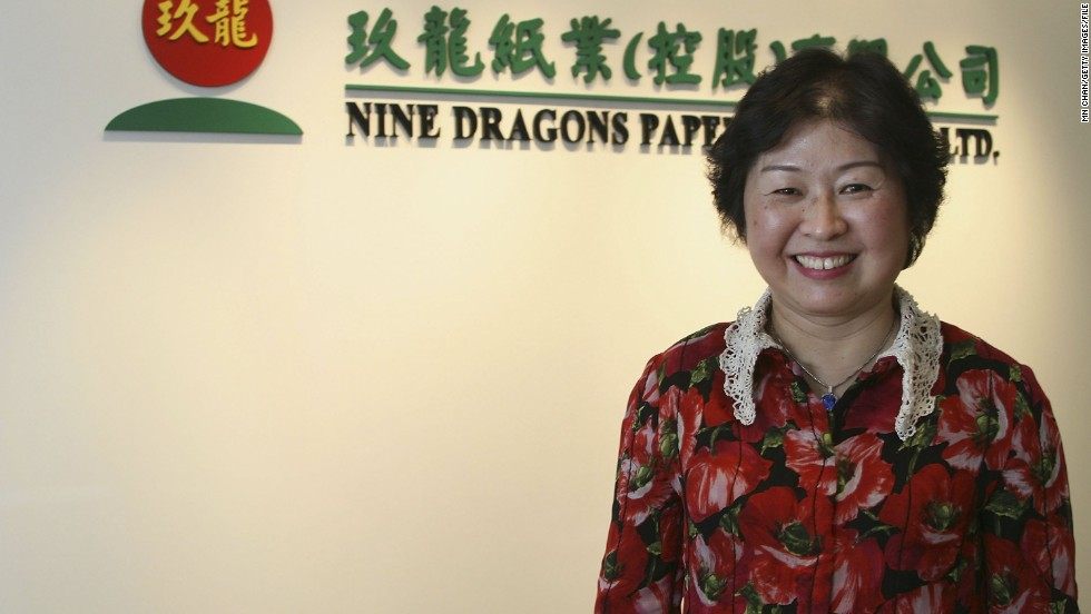 <strong>Cheung Yan (1957- )</strong><br /><em>Paper recycling</em><br />Started: 1995<br /><br />In 2006, with a personal fortune of $3.4bn, Cheung Yan became the first woman to top China's annual Huran Report rich list, making her the richest self-made woman in the world. It was a fortune built entirely from paper.<br /><br />Cheung, the daughter of a Chinese army officer, started her first paper recycling company in Hong Kong in 1985. After a stint in the United States shipping waste paper to China for recycling, Cheung returned to China and started Nine Dragons Paper, of which she is chairlady, with her husband.<br /><br />Nine Dragons Paper now describes itself as the world's largest environmentally friendly paper manufacturer and, according to Forbes, has 18,000 full-time staff.