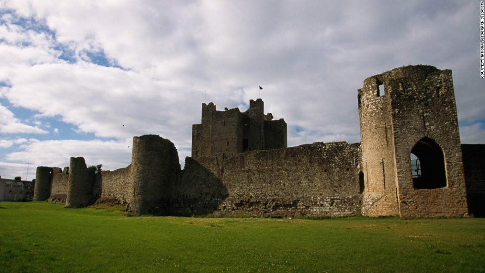 "The real star of the movie ""Braveheart,"" Trim Castle was built over 30 years starting in the 1170s by Hugh de Lacy and his son, Walter. Children can help archaeologists excavate at nearby ruins of the Dominican Black Friary."