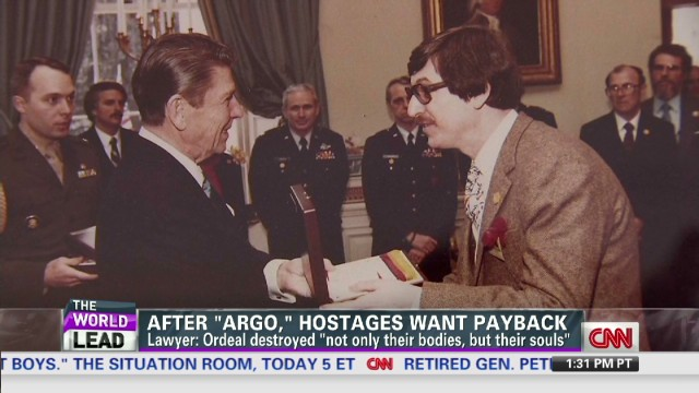 After 'Argo,' hostages want payback