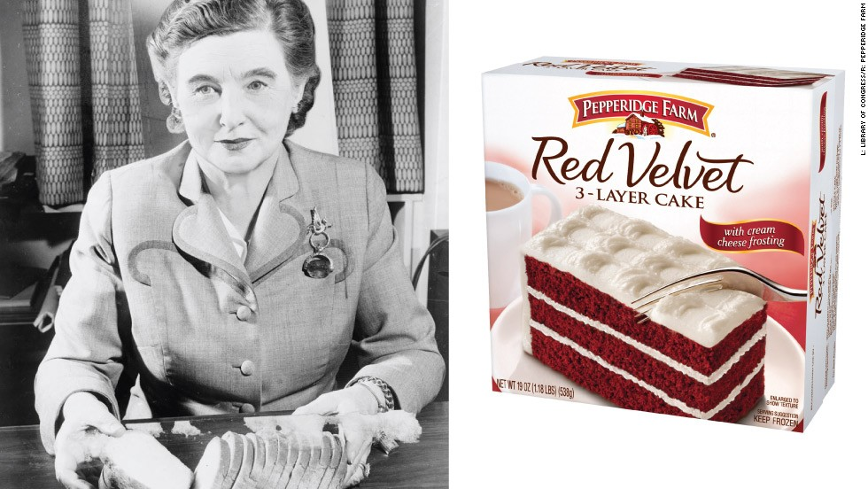 <strong>Margaret Rudkin (1897-1967)</strong><br /><em>Pepperidge Farm</em><br />Started: 1937<br /><br />Rudkin began making stone-ground wheat at her family's farmhouse in Connecticut for her son, who suffered with asthma and food allergies. Soon her son's doctor, initially skeptical, was prescribing her bread to other patients and her husband was carrying loaves on the train to New York to be sold at specialist grocers.<br /><br />By the end of 1939, Rudkin had sold more than a million loaves and featured in Reader's Digest. In 1940, she moved her business from her garage to its own factory, adding cookies to her range a decade later.<br /><br />She sold the business to Campbell Soup for $28 million in 1961, and was the first woman to serve on Campbell's board of directors.