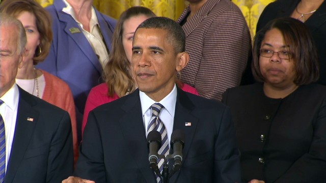 Obama: Shame on us if we forget Newtown