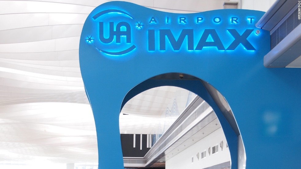 "The UA IMAX cinema at Hong Kong International is the world's only airport IMAX and claims to be the biggest movie theater in Hong Kong. Photo courtesy of <a href=""http://www.flickr.com/photos/30755219@N02/"" target=""_blank"">K_I_A</a>."