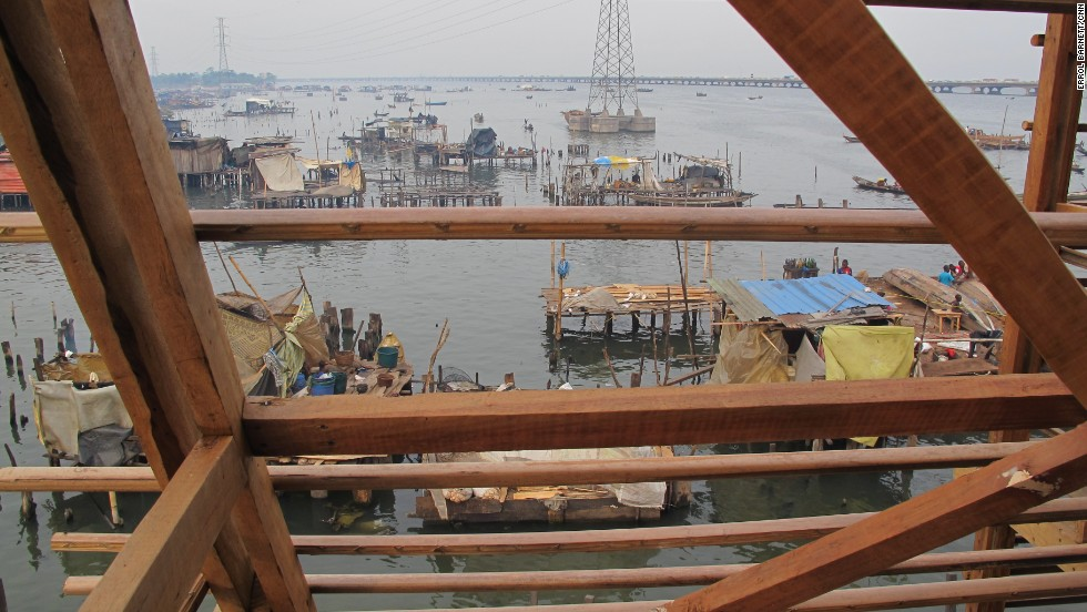 "This <a href=""http://www.cnn.com/2015/01/13/world/o2w-profile-kunle-adeyemi/index.html"">moveable floating school </a>was built for Makoko, a slum on the waterfront in Lagos, Nigeria, that comprises buildings constructed on stilts over a lagoon."