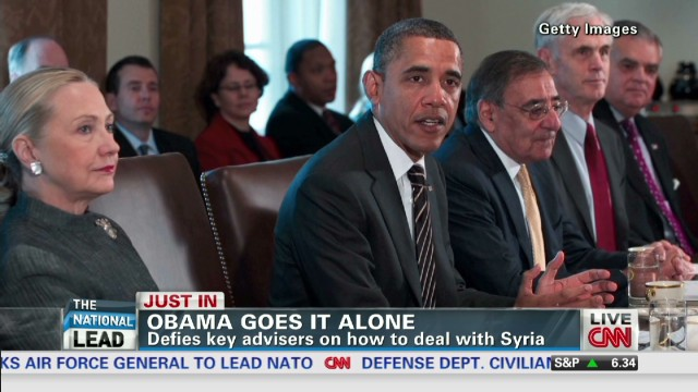 Obama says no to non-lethal help to Syria